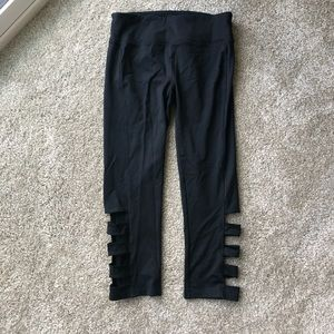 Forever 21 Cropped Workout Leggings